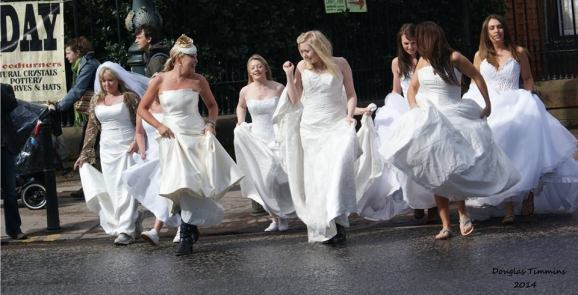 And this time the Brides of Oran Mor Glasgow are getting ready to protest.