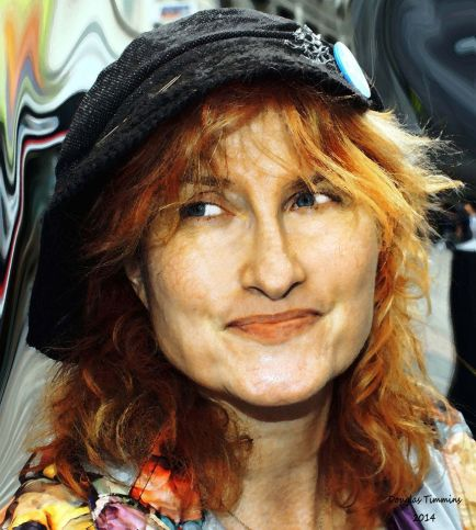 My new portrait of singer Eddi Reader (Fairground Attraction) (Robert Burns ) and 3 times BRIT Award Winner. And a good laugh as well!