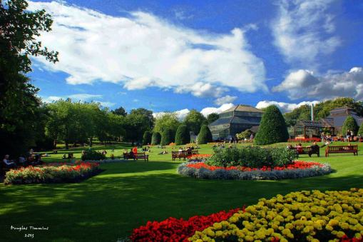 Oh how I remember summer in the Botanic Gardens Glasgow..