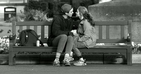 Young Love.....Glasgow yesterday.